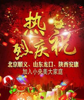 热烈庆祝:北京顺义,山东龙口,陕西安康加入小央美美术教育大家庭!
