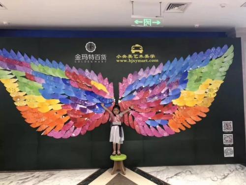 每一个孩子都是天使,让我们放飞自己的梦想吧!