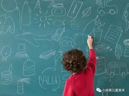 小央美儿童美术:孩子从几岁学习儿童美术好?