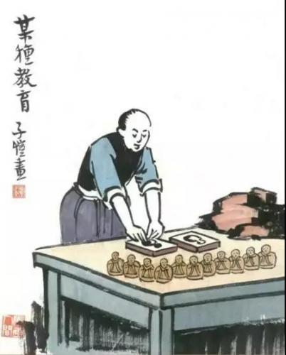 丰子恺漫画直戳中国少儿教育痛点,发人深省!